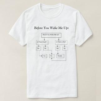 Alvorens u me de Boom van het Besluit wekt T Shirt