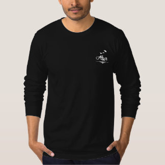 Alya Fit Regular Editon Black Lange Mouwen Heren T Shirt