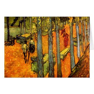 Alyscamps door Vincent van Gogh Briefkaarten 0