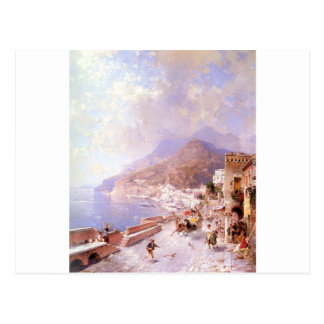 Amalfi door Franz Richard Unterberger Briefkaart