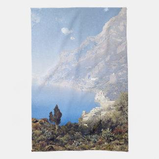 Amalfi Handdoek van de Keuken van het Zee van