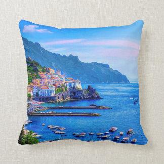 Amalfi het Art. van de Foto van Italië Europa van Sierkussen