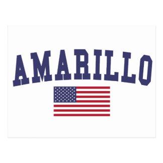 Amarillo de V.S. Vlag Briefkaart
