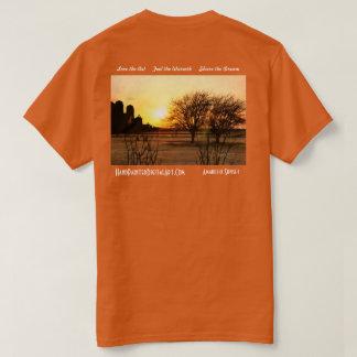 Amarillo Zonsondergang T Shirt