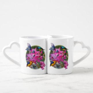 Amaryllis-bloem de vergadering van de Tuin Mok