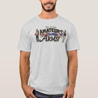 Amateurs aan de t-shirt van Wapens