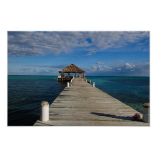 Amber Caye Belize Poster