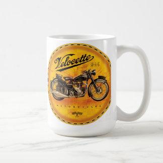 Amber de motorfietsenteken van Velocette Koffiemok
