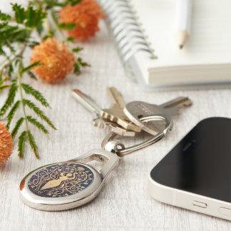 Amber Godin Keychain - Ovaal