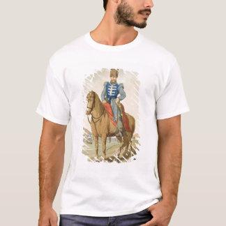Ambtenaar van de kozak, die door de kunstenaar t shirt