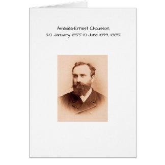 Amedee-Ernest Chausson Briefkaarten 0