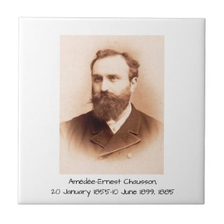 Amedee-Ernest Chausson Tegeltje