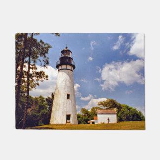 Amelia Island Lighthouse, de Mat van de Deur van