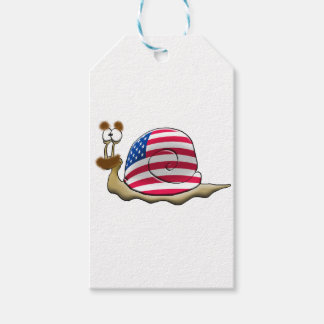 American snail cadeaulabel