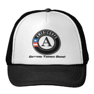 americorps logo, die Dingen Gedaan krijgen! Trucker Petten