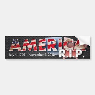 Amerika: R.I.P. de Sticker van de bumper (metaal