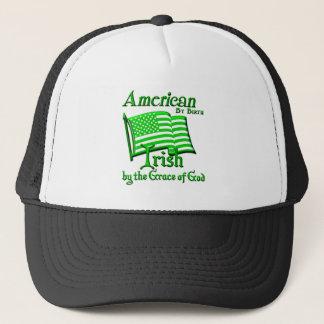 Amerikaan door Geboorte, het Iers door de Gunst Trucker Pet