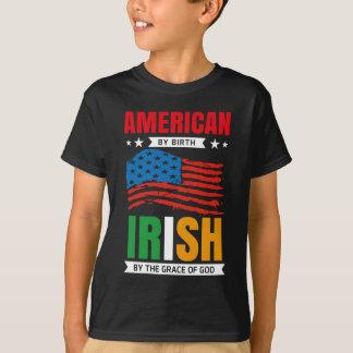 Amerikaan door geboorte het IERS door de gunst van T Shirt