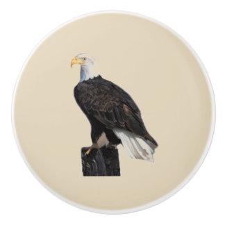 Amerikaans Kaal Eagle Keramische Knop