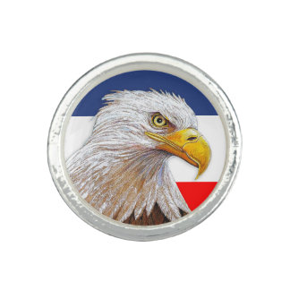 Amerikaans Kaal Eagle Ring