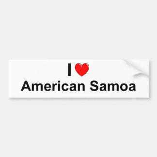 Amerikaans Samoa Bumpersticker