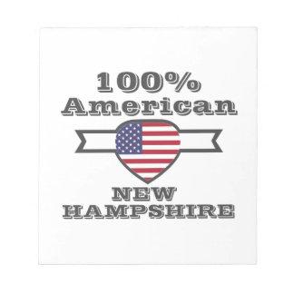 Amerikaanse 100%, Van Newhampshire Notitieblok