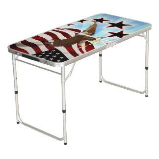 Amerikaanse adelaar beer pong tafel