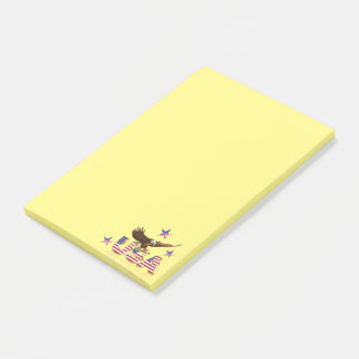 Amerikaanse adelaar post-it® notes
