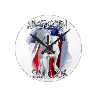 Amerikaanse Buldog Ronde Klok