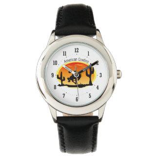 Amerikaanse Cowboy Horloge