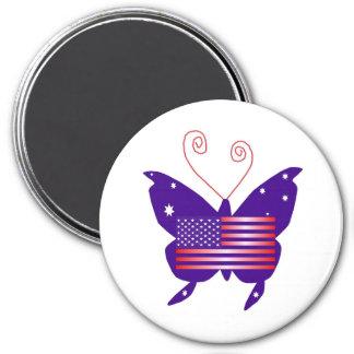Amerikaanse Diva Vlinder Koelkast Magneten
