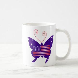 Amerikaanse Diva Vlinder Koffie Mokken