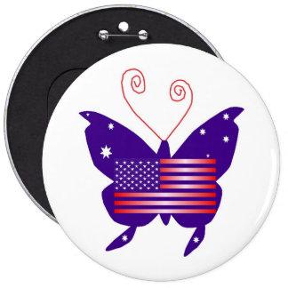 Amerikaanse Diva Vlinder Speldje