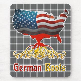 Amerikaanse Duitse Wortels Mousemat Muismat