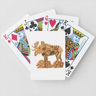 Amerikaanse elanden bicycle speelkaarten