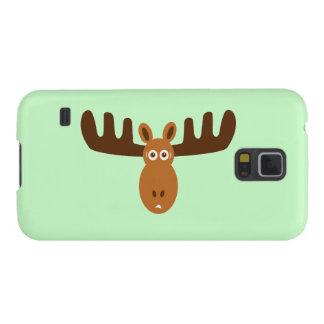 Amerikaanse elanden Head_Classics Galaxy S5 Hoesje