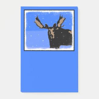Amerikaanse elanden in de Winter Post-it® Notes