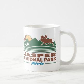 Amerikaanse elanden van het Park van de jaspis de Koffiemok