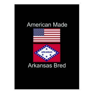 """""""Amerikaanse Geboren. Het Arkansas Gekweekte"""" Briefkaart"""