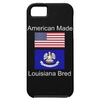 """""""Amerikaanse Geboren. Het Louisiane Gekweekte"""" Tough iPhone 5 Hoesje"""