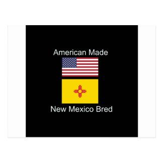 """""""Amerikaanse Geboren. Het New Mexico Gekweekte"""" Briefkaart"""