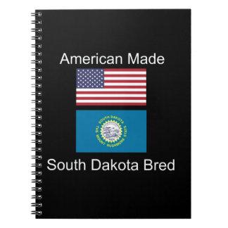 """""""Amerikaanse Geboren. Ontwerp van de Vlag van het Ringband Notitieboek"""