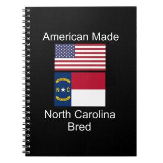 """""""Amerikaanse Geboren. Ontwerp van de Vlag van Ringband Notitieboek"""