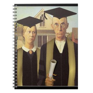 Amerikaanse Gediplomeerde Notitieboek