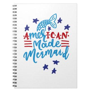 Amerikaanse Gemaakte Meermin. Leuke Spreuken Notitieboek