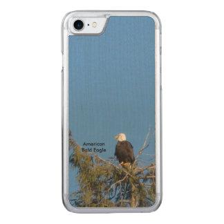 Amerikaanse Kale iPhone 6 van Eagle Carved iPhone 8/7 Hoesje