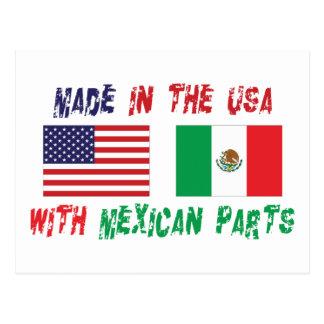 Amerikaanse Mexicaans-Amerikaans Briefkaart