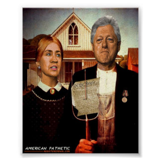 Amerikaanse Pathetisch Poster