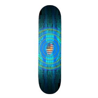 Amerikaanse Patriottisch Skateboard Deck