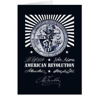 Amerikaanse Revolutie Alexander Hamilton Kaart